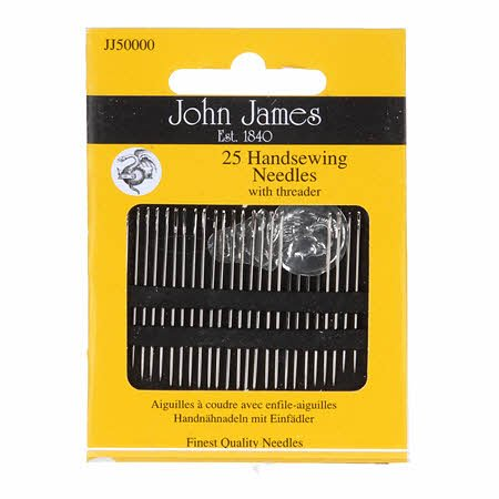 John James Handsewing Needles with threader