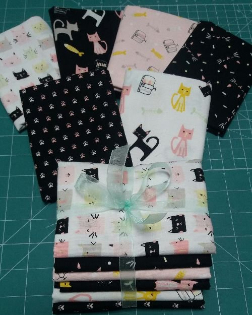 Meow And Forever Fat Quarter Bundle