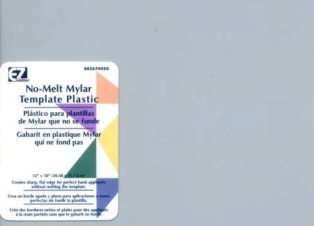 No Melt Mylar Template Plastic Sheet