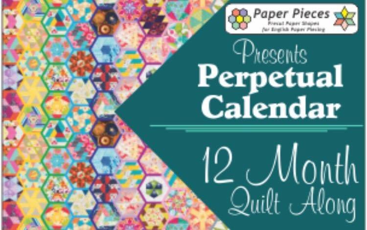 Katja Marek's Perpetual Calendar Paper Piece Packs