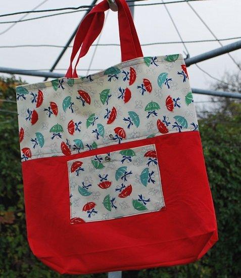 Rain Day Folding Grocery Bag Kit