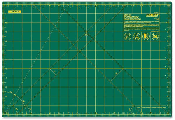 Olfa Cutting Mat 12 by 18