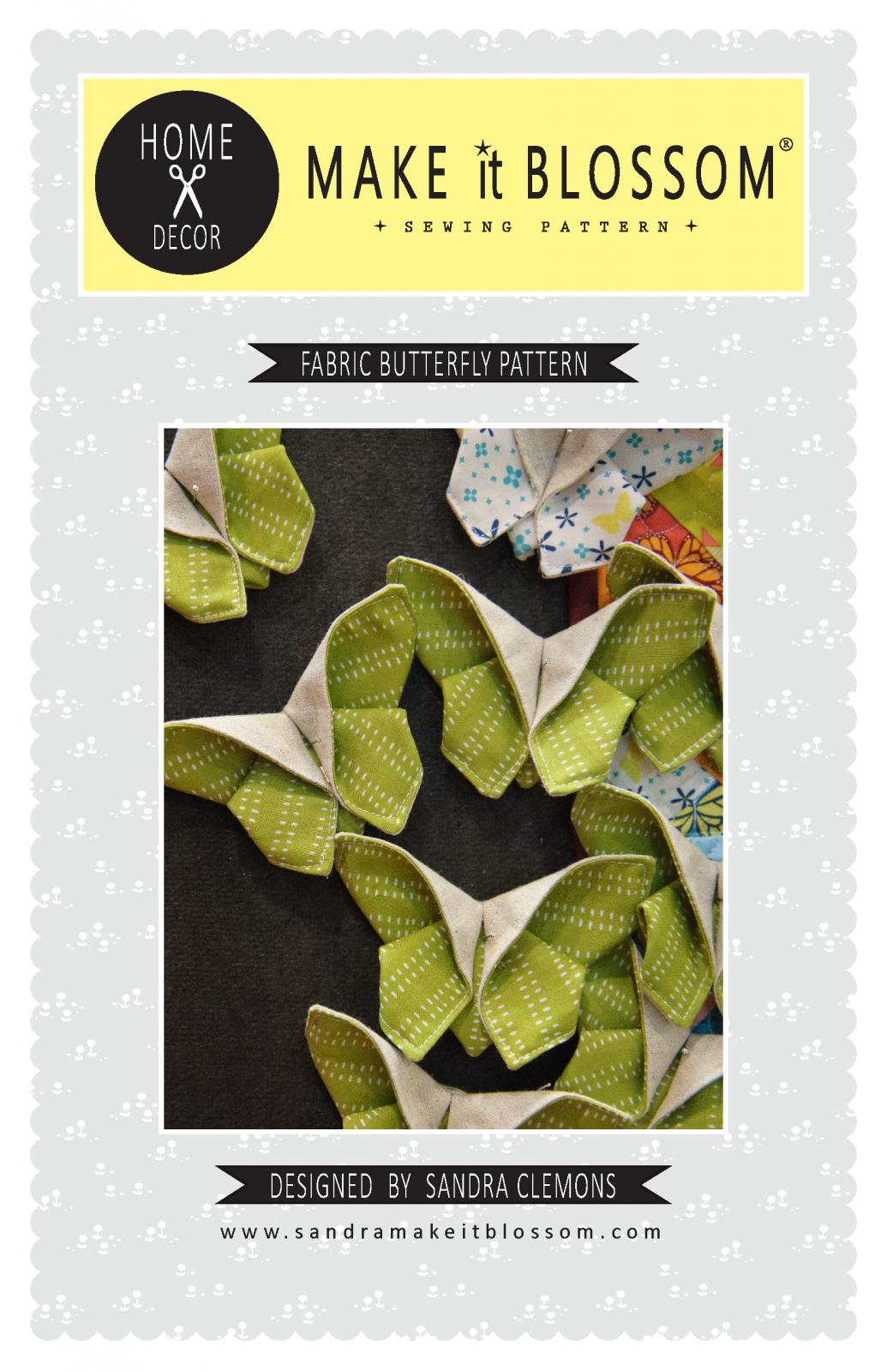Fabric Butterfly Pattern