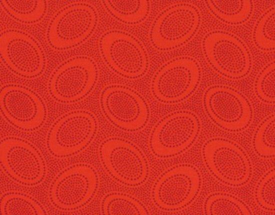 Aboriginal Dot GP71 Red