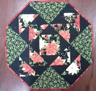 Octagonal Table Centre and Mats Pattern