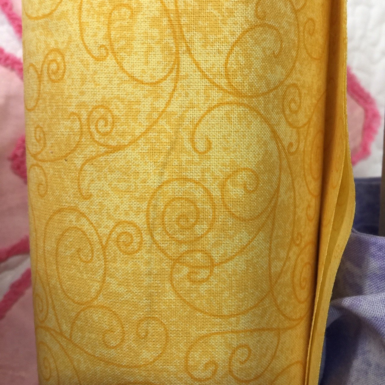 Wide Backing  Willow Yellow