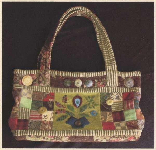 Victoria Knitting and Sewing Tote - Sue Spargo