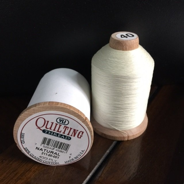 YLI Hand Quilting Thread Natural