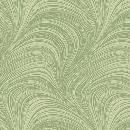 Wave Texture - Soft Green