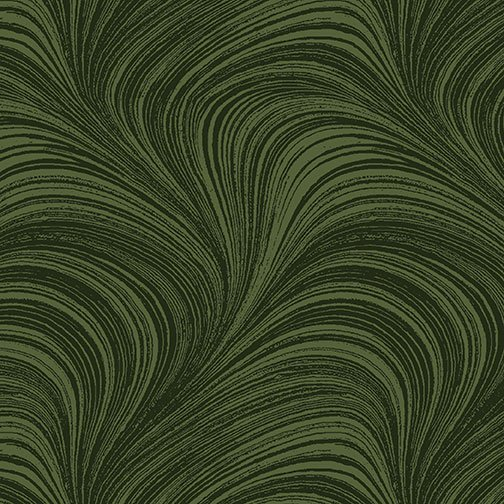Wave Texture - Dark Green