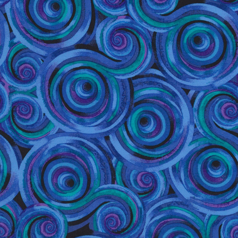 Geo Circles - Blue Multi