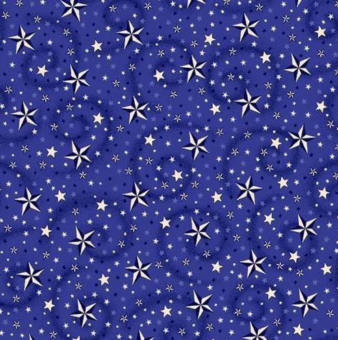 American Dream - Blue w Stars