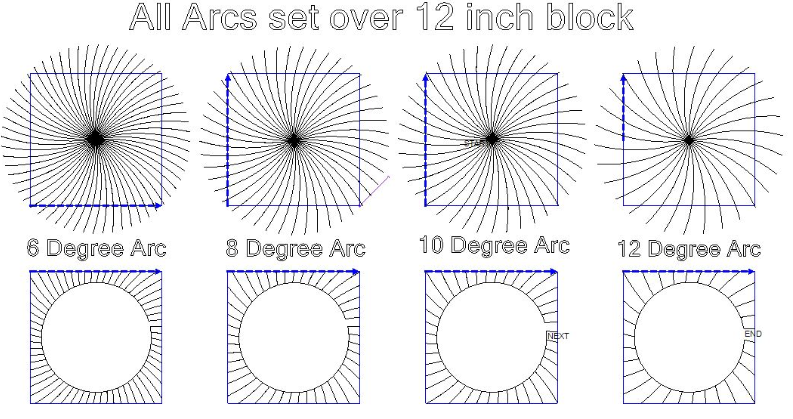 Circle Array Set of (Typo) 10 not 20 - Digital Download
