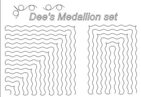 Dee's Medallion Set