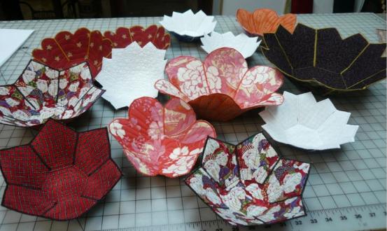 Fabric Bowls - Digital Download