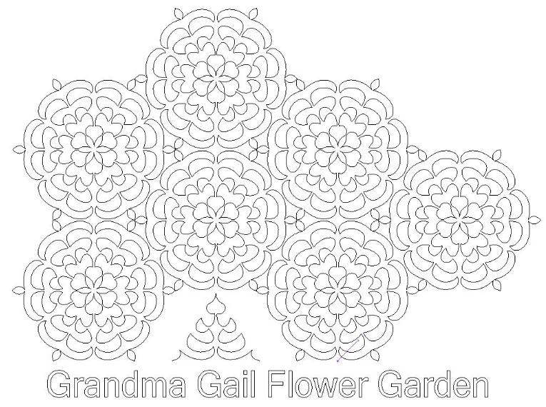 Grandma Gail's Flower Garden - Digital Download