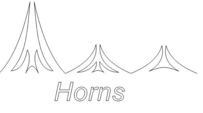 Horns P2P Patterns - Digital Download