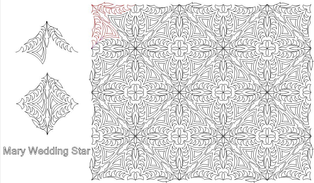 Mary's & Spider Wedding Star Digital Download