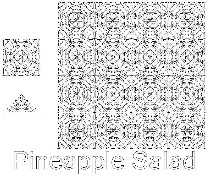 Pineapple Salad - Digital Download