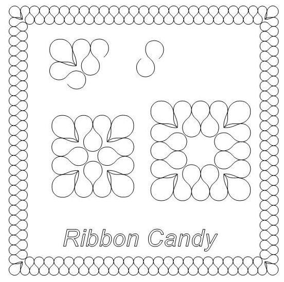 Ribbon Candy - Digital Download