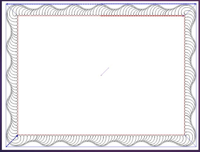 Scalloped Borders Video  - USB Mailed