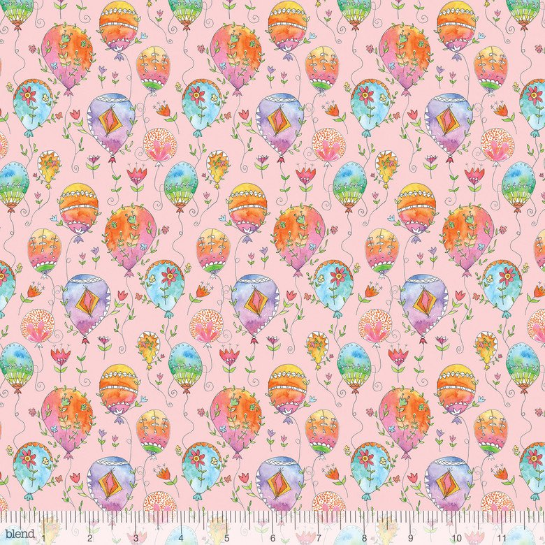 Blend Fabric 113.115.02.2 waltz of whimsy Charmed Pink
