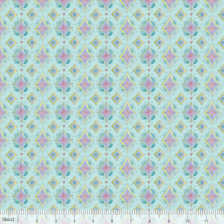 Blend Fabric 113-115-04-2 waltz of whimsy Pixie Aqua