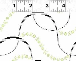 Clothworks Y1674-11 White Mojito
