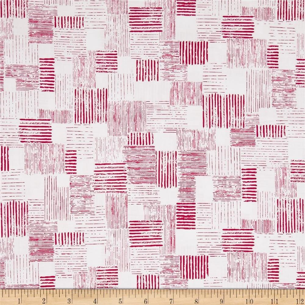 Quilting Treasures 1649-26023 ZP En Vogue Textured Patch White/Pink