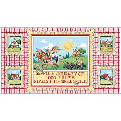 Quilting Treasures 1649-26547-X MARY'S JOURNEY JOURNEY PANEL (24)