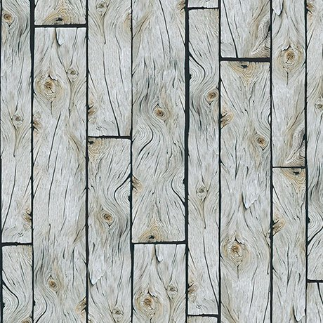 Quilting Treasures 1649-26652-K WOOD PLANKS GRAY LABRADOR-ABLE