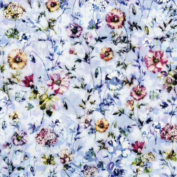 RJR  3540-001 Fleur Couture - Sachet - Chambray Digiprint Fabric