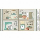 Wilmington Prints 54537 243-Freshly Picked Placemat Panel (24)Multi