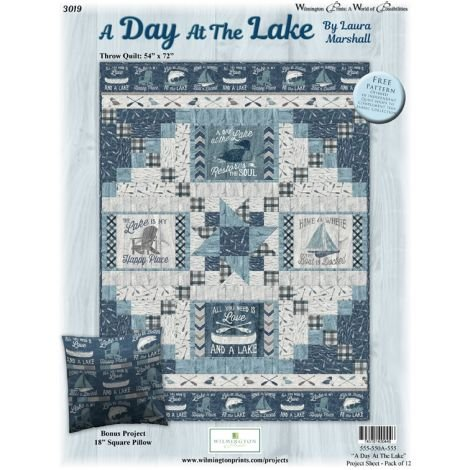 A day at the Lake 54 x 72 kit