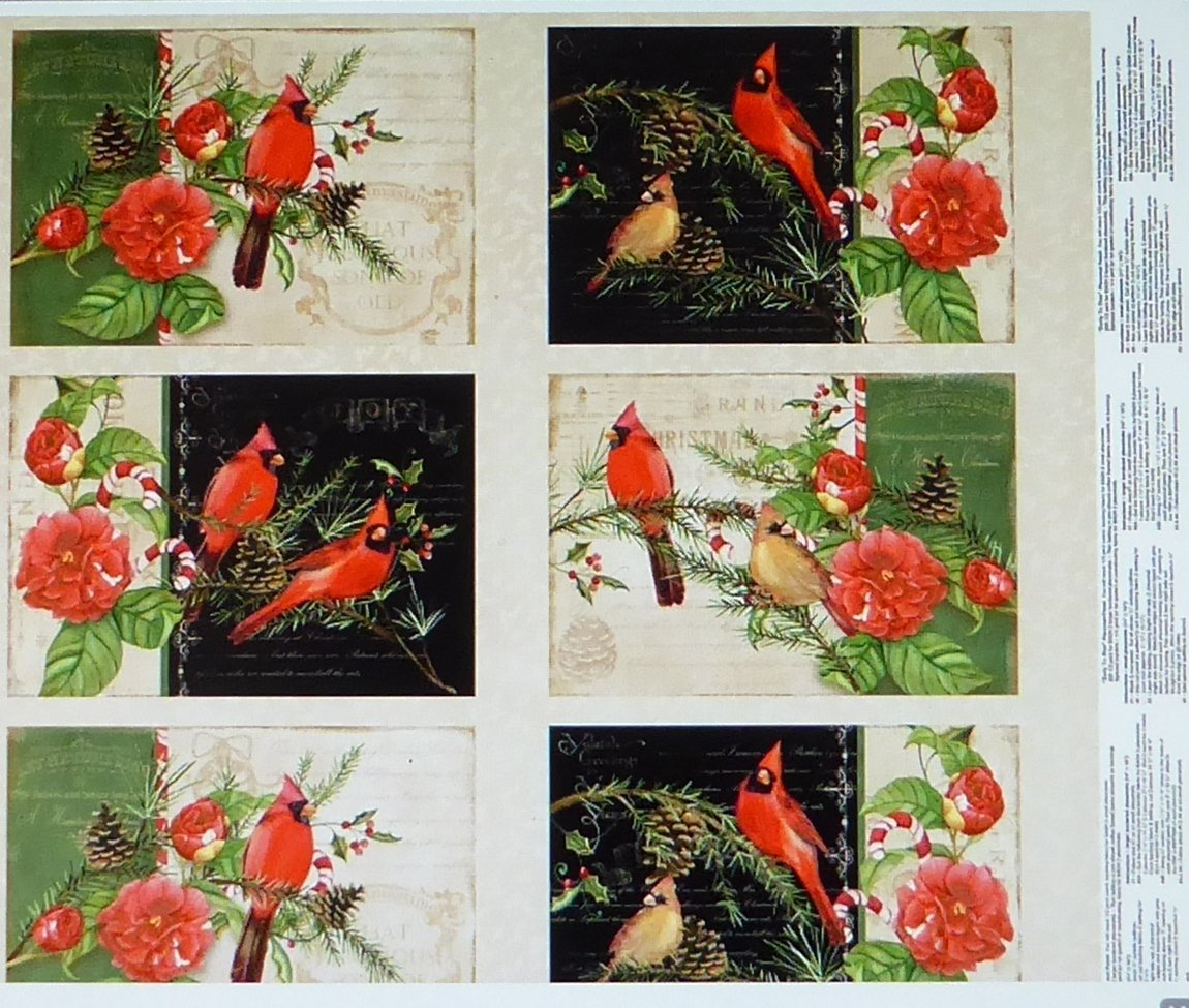 Wilmington Prints- Christmas in The Wildwood Panel Multi Placemat