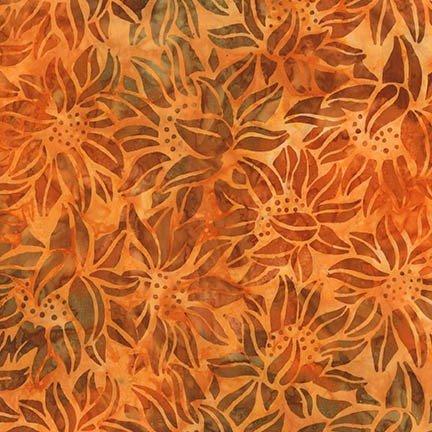 Robert Kaufman AMD-16828-148 PUMPKIN Batiks-Cornucopia 9