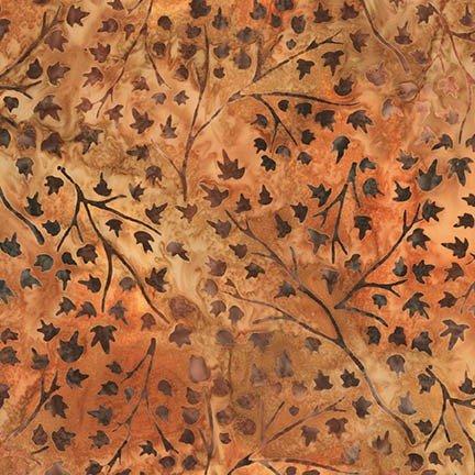 Robert Kaufman AMD-16829-179 RUST Batik-Cornucopia 9