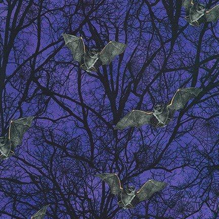 Robert Kaufman AWHD-19487-419 GUMDROP Raven Moon