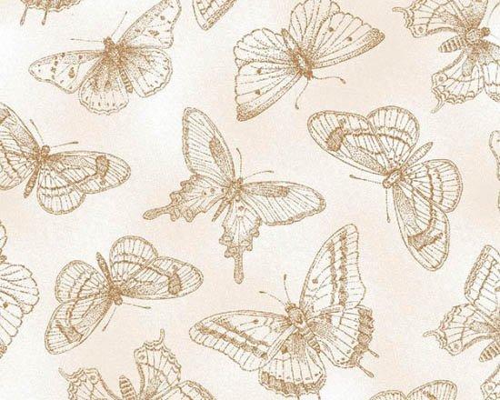 Henry Glass & Co 9852-44 Butterfly Botanical