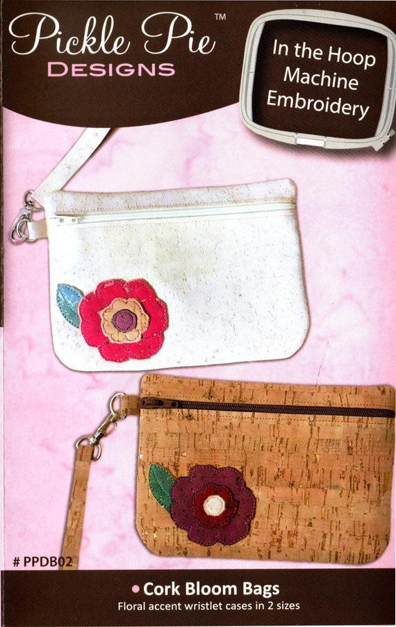 Pickle Pie Designs * CORK BLOOM BAGS *