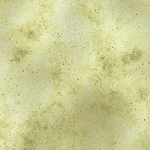 Benartex  0867340B Watermark Tonal Light Olive-Pansy Noir