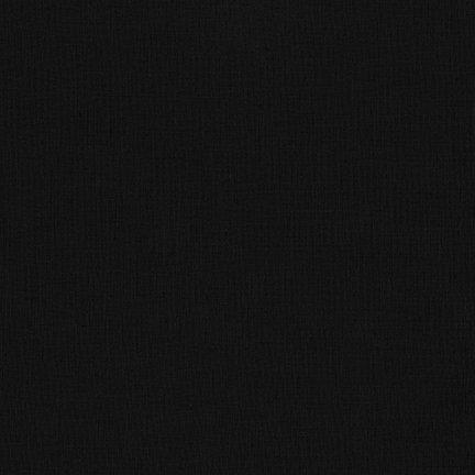 Robert Kaufman Kona Cotton K001-1019 Black