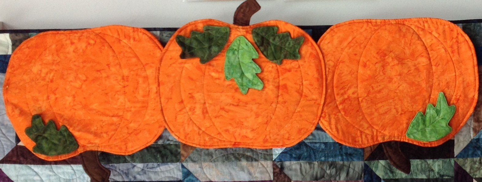 The Pumkin Patch Table Runner Kit