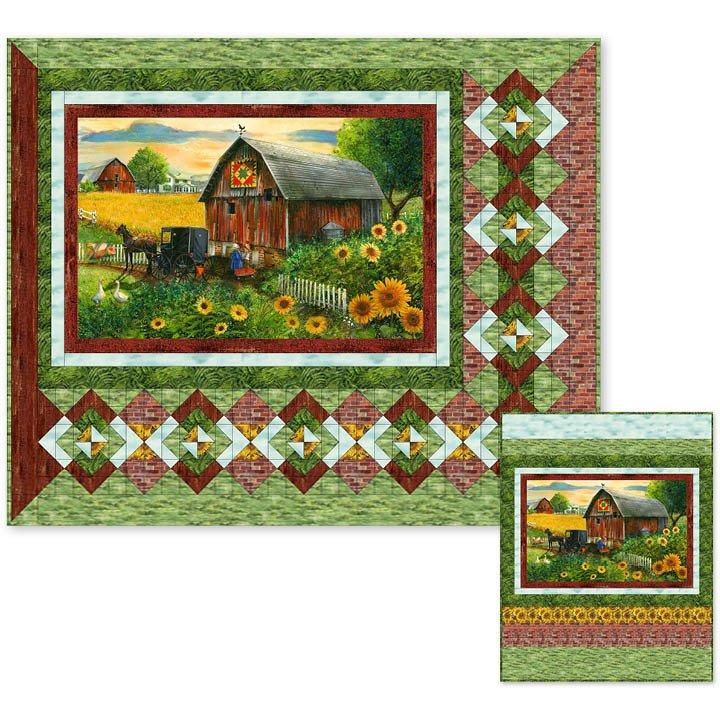 Northcott Studio- Heartland Home Pattern