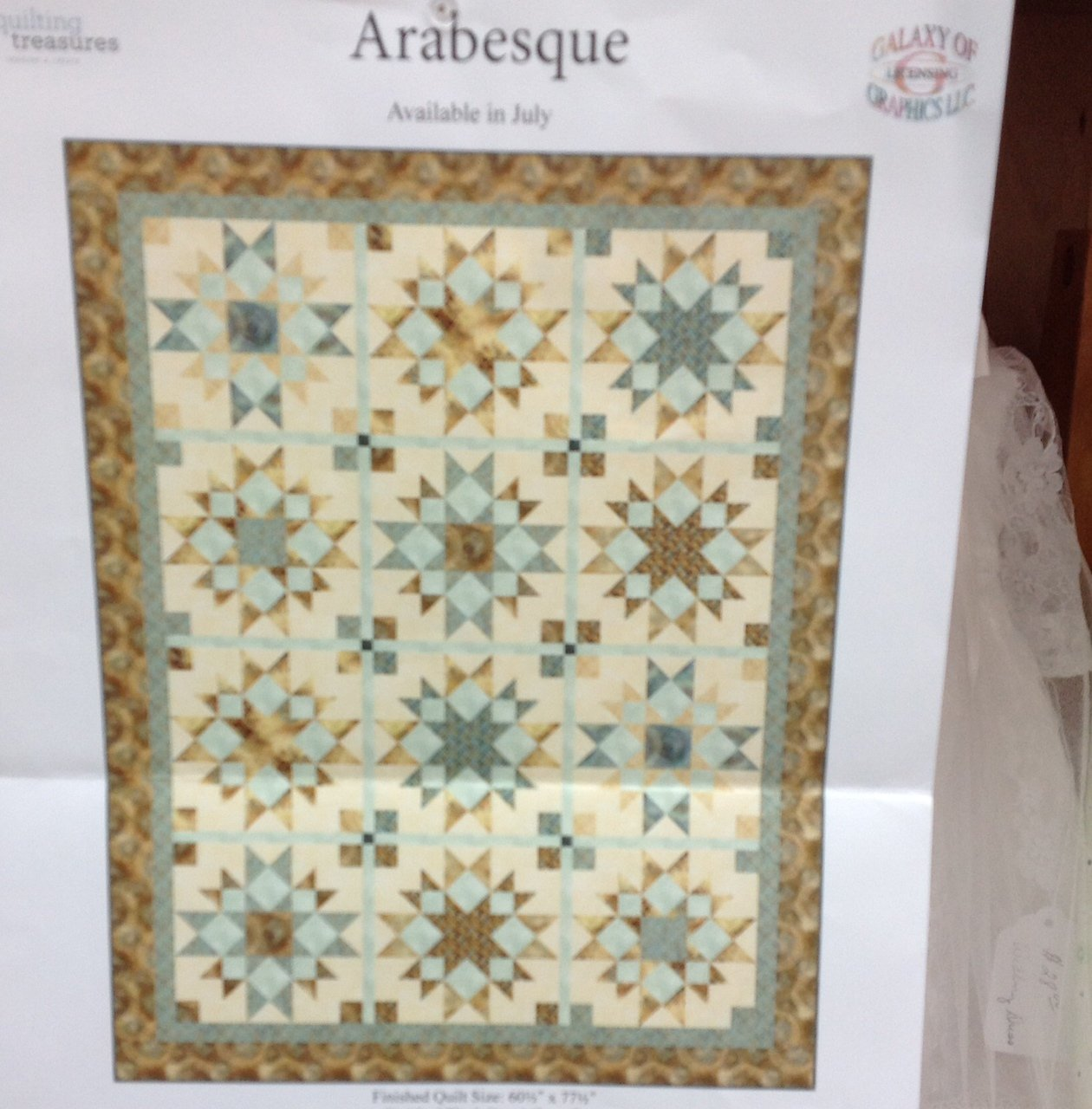 Arabesque Kit 78 x 61 #09630