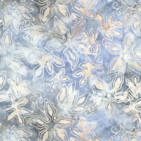 Timeless Treasures Tonga Cloud Batik White 100/% cotton fabric by the yard