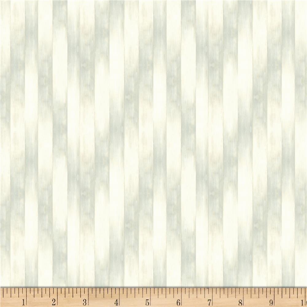 Wilmington Prints 89178-119 Coastal Bliss-Wood Texture Whitewash