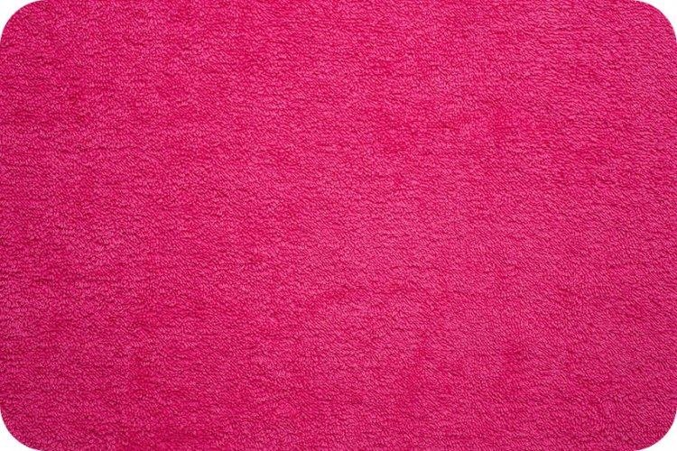 16 Ounce Terry Cloth Fuchsia 58/60 wide