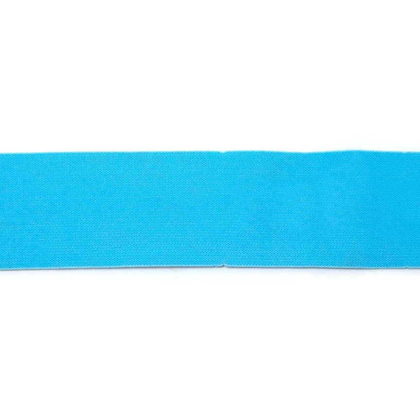 2 Inch Waistband Elastic Aqua 100% polyester