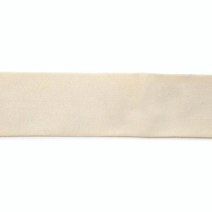 2 Inch Waistband Elastic Cream 100% polyester